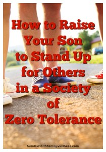 Stand Up, Raising Sons, Boys, Parenting