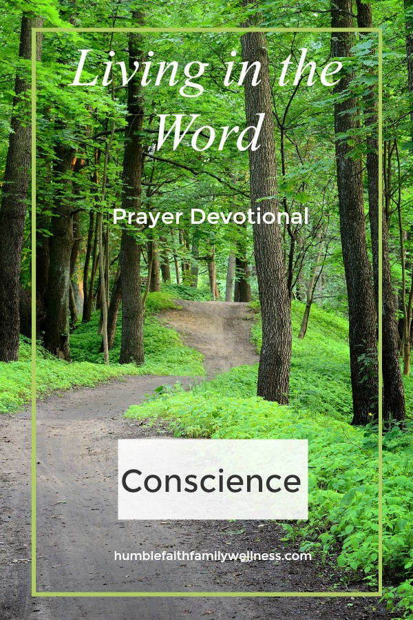 Conscience, Prayer Devotional