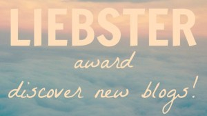 Nominated for the Liebster Award – Humbly Encouraged