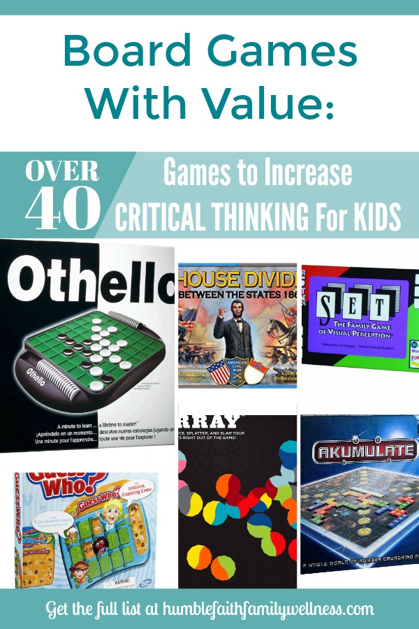 Critical Thinking, Games, Toys, Roundup, Gifts, Parenting