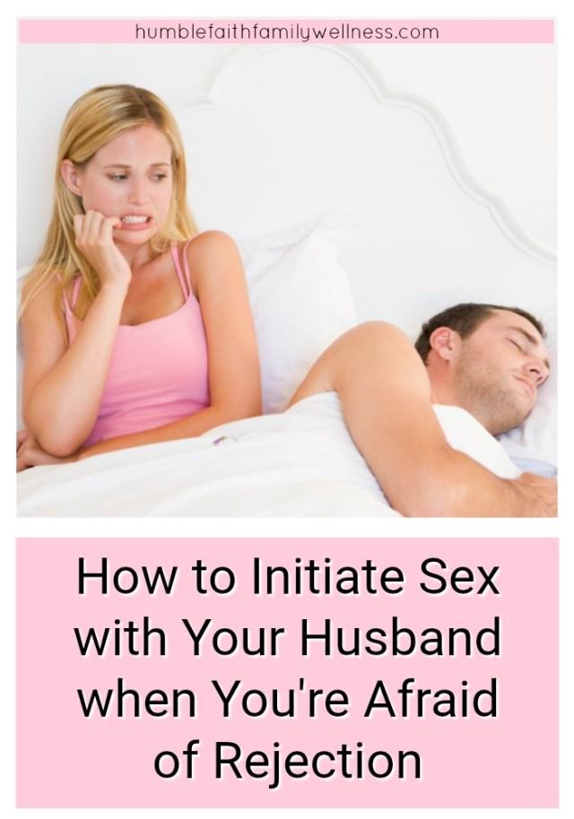Husband wants wife to initiate sex