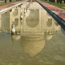 Taj Mahal (reflected in water)
