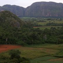 Viñales valley at dusk