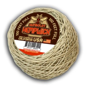 Humboldt Hemp Wick 100 Feet Full Flame