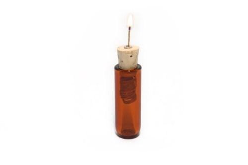 Pocket Sized Hempwick Dispensers AMBER