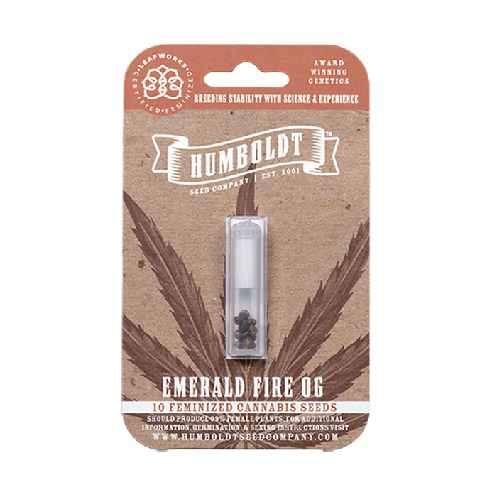 Humboldt Seed Company Feminized Fire OG Seed Pack