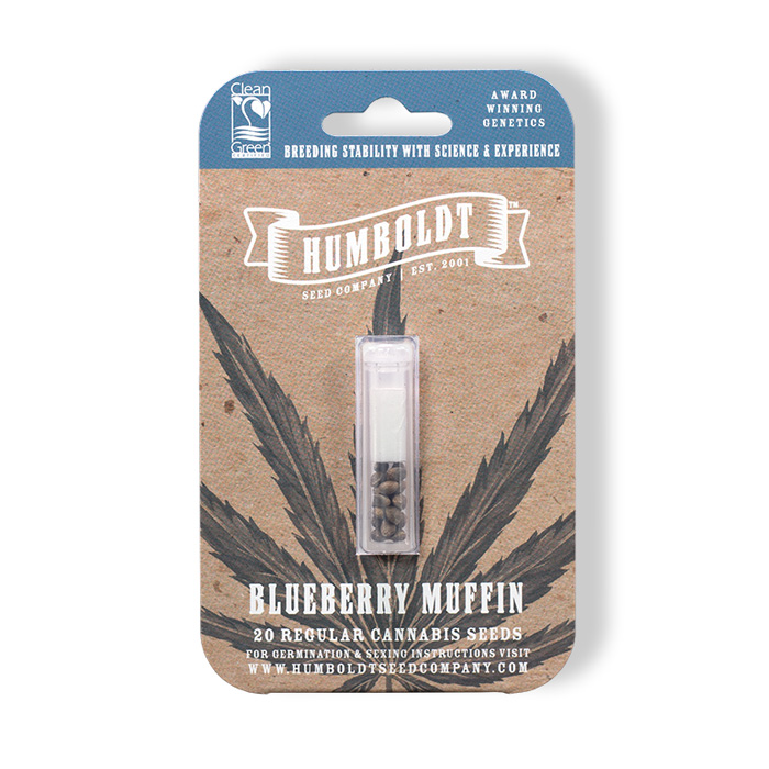 Humboldt Seed Company Blueberry Muffin Seed Pack