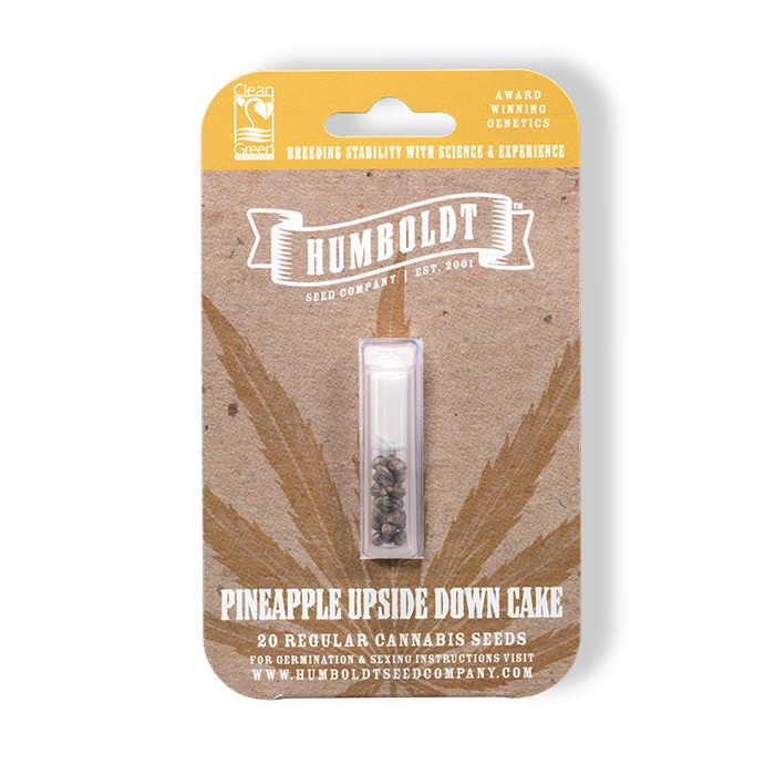 Humboldt Seed Company Pineapple Upside Down Cake Seed Pack