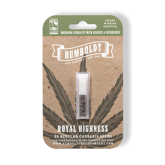 Humboldt Seed Company Royal Highness Seed Pack