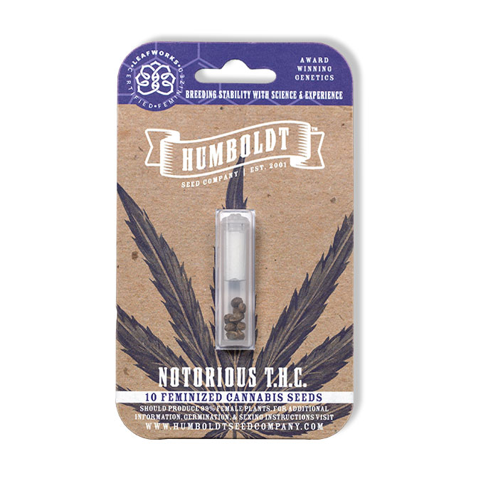 Humboldt Seed Company Notorious THC Pack