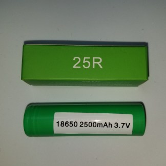 Samsung 25r 18650 battery