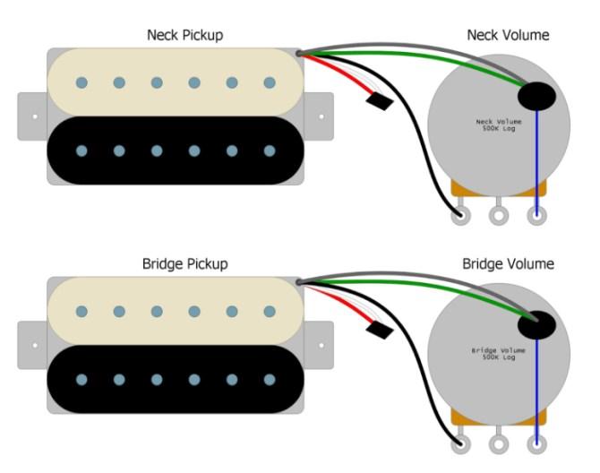 les paul threeway switch wiring – basic guitar electronics