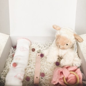 Small surprise baby giftbox
