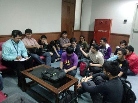 Meet point SSS utk mhs angkatan 2015