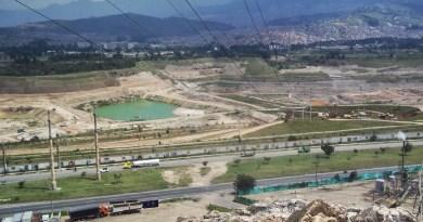 Minería en la cuenca del Río Tunjuelo