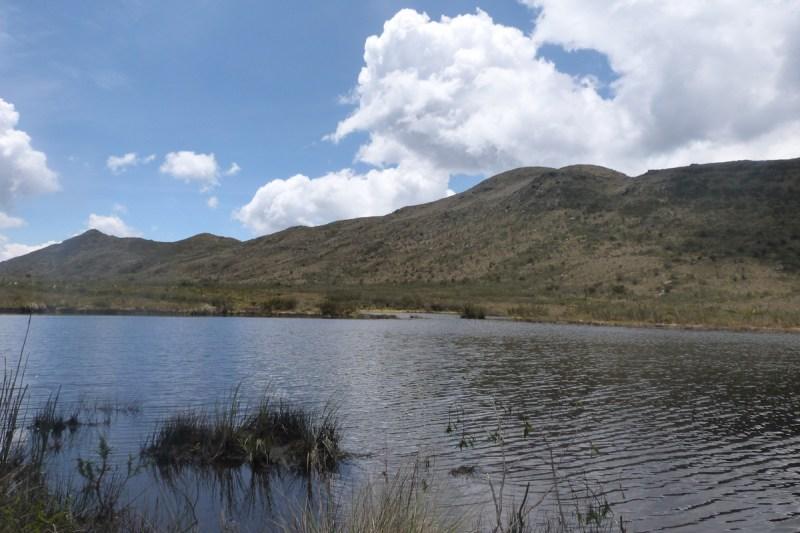 Laguna de Teusacá o Laguna El Verjón, Páramo El Verjón (Matarredonda)