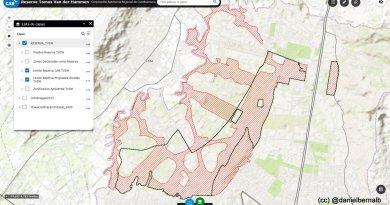 La cacareada «reserva» Peñalosa de 1710 hectáreas, en realidad son sólo 1020.