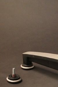 plycraft lounge chair floor glide photo