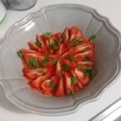 Préparation des légumes