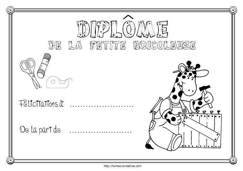 Diplomes A Imprimer