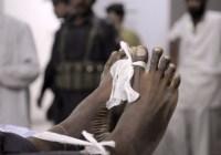 آواران:پاکستانی فورسز نے ایک تشدد زدہ لاش پھینک دی