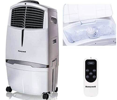Image of Honeywell dehumidifier