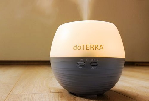 Image of warm or cool mist humidifier for dry skin