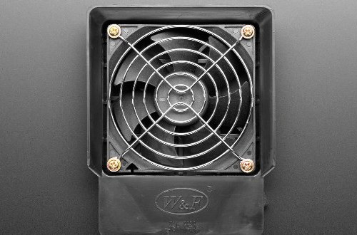 Image of use of exhaust fan in bedroom