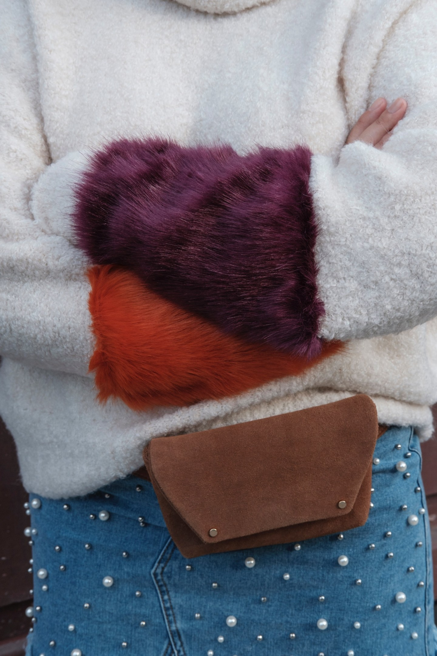 Faux Fur And Fanny Packs