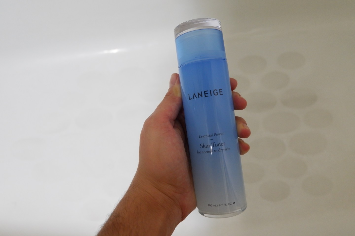 Hydrated Skin with Laniege