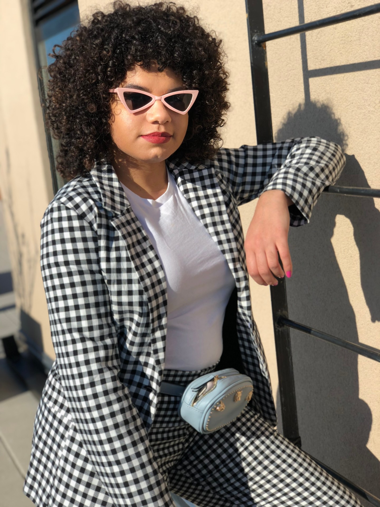 Gingham for Spring? Groundbreaking.