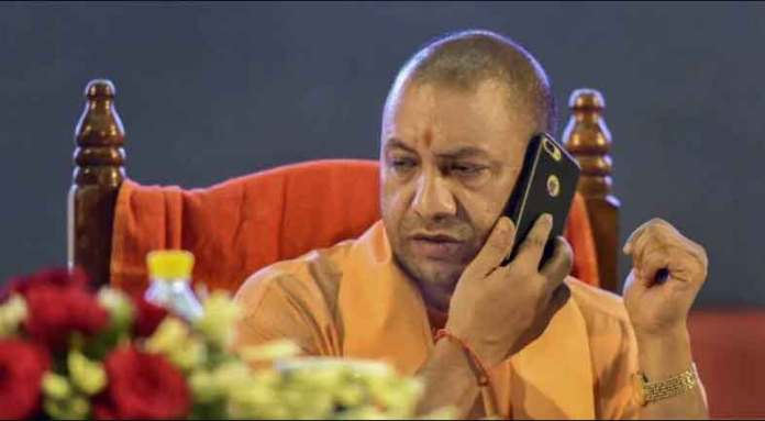 sp party leader wrote a letter to CM Yogi with blood