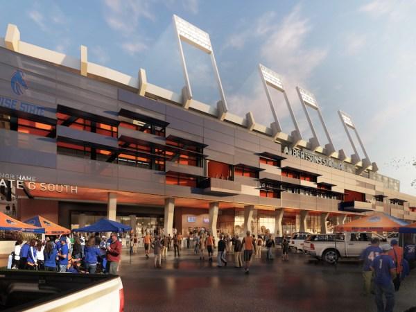 Albertsons Stadium Expansion Design Study