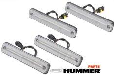 Повторители Hummer h2 4шт светодиодные светлые