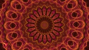 Rose Gold Mandala 3