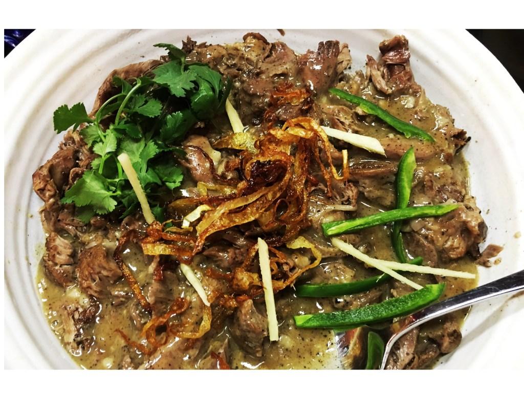 Pakistani Lamb Stew