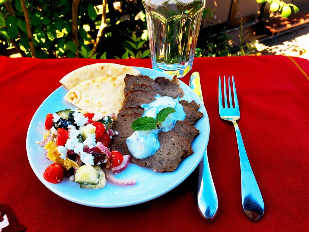 Greek Gyros recipe featured