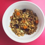 Homemade Granola featured