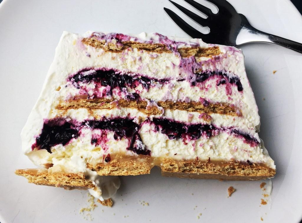 Blueberry-Lemon Icebox Cake