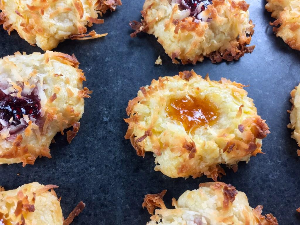 Jam Thumbprint Cookies from Ina Garten
