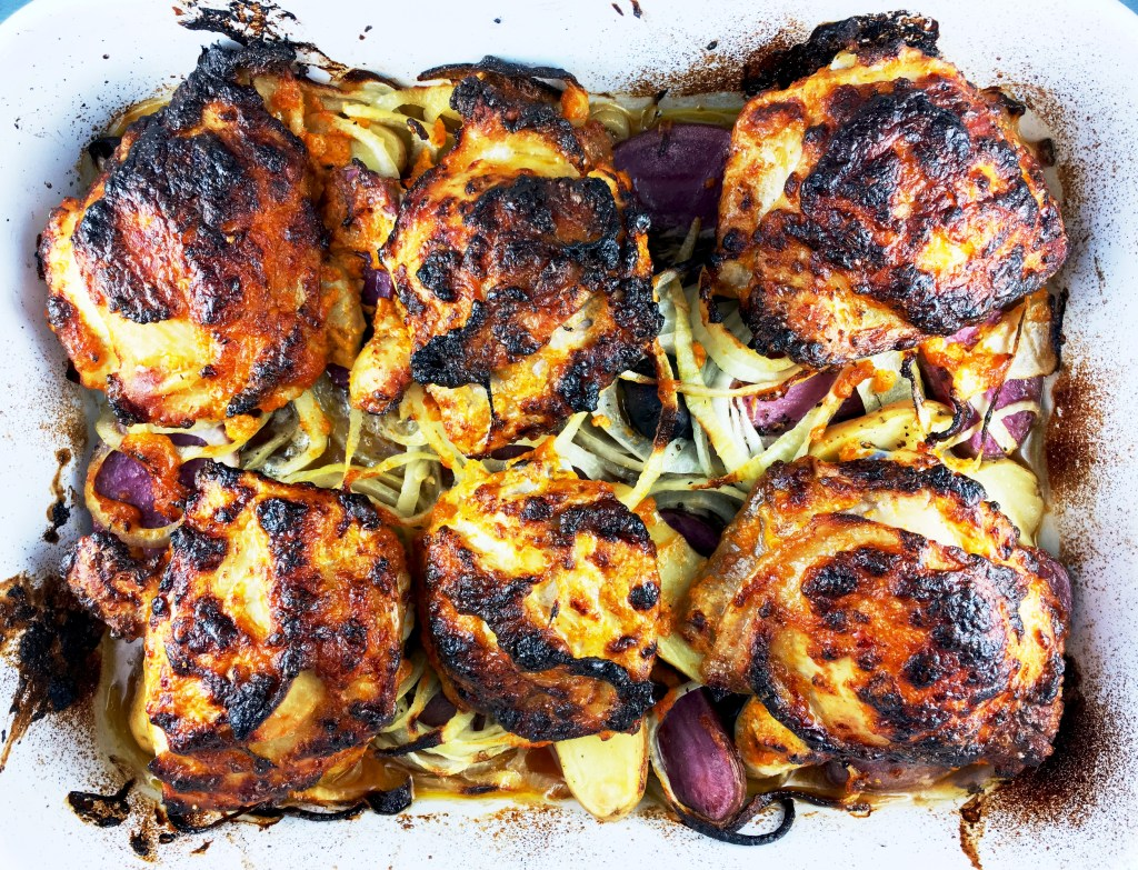 Lime Pickle Marinated Chicken