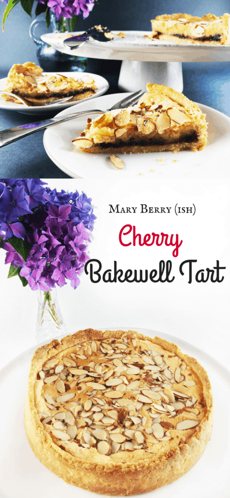 Cherry Bakewell Tart from Mary Berry