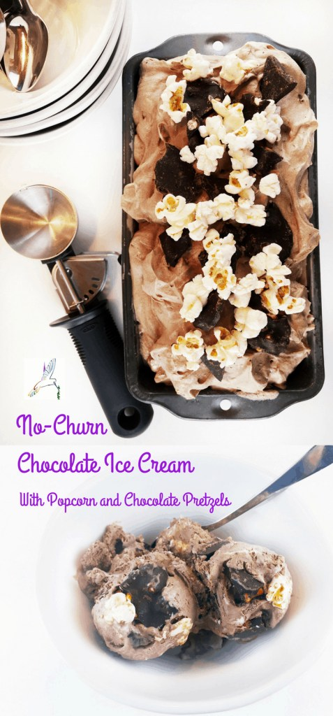 Easy No Churn Chocolate Ice Cream