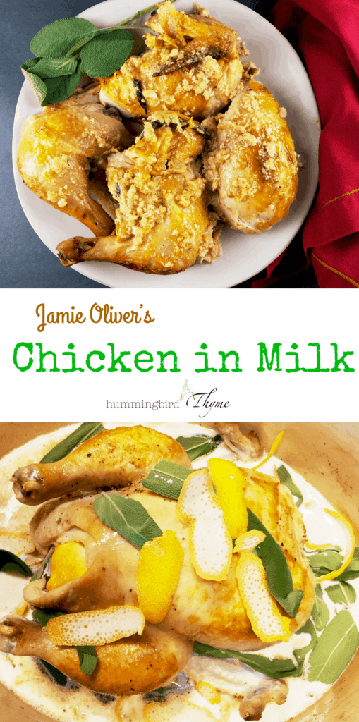 Jamie Oliver Chicken in Milk