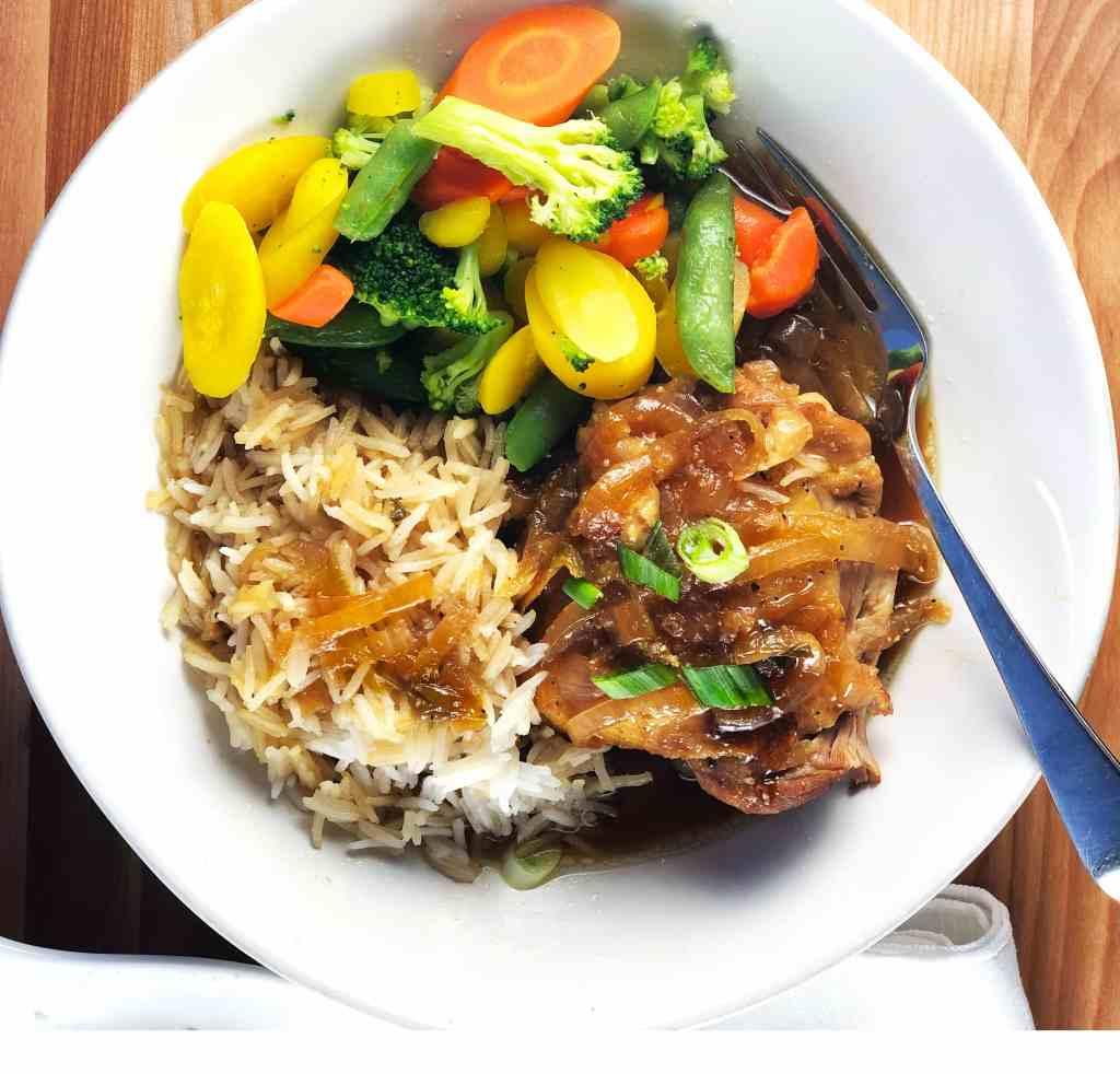Instant Pot Chicken Adobo