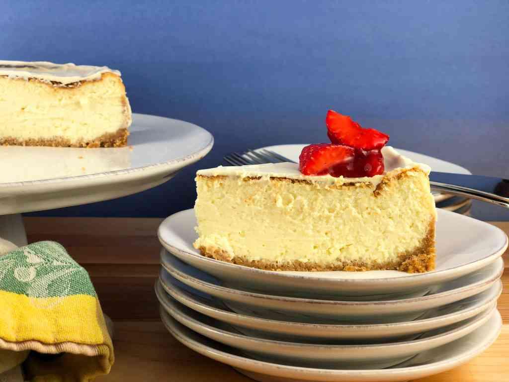 Creamy Fluffy Cheesecake