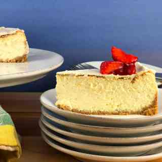 Creamy Fluffy Cheesecake