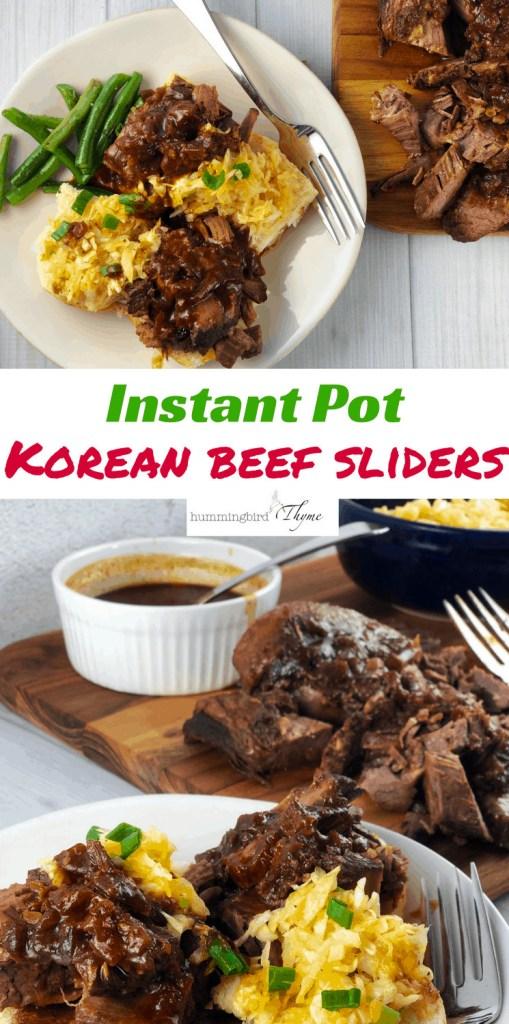 Korean Beef Brisket instant Pot