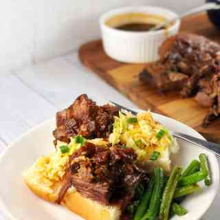 Instant Pot Korean Brisket Sliders