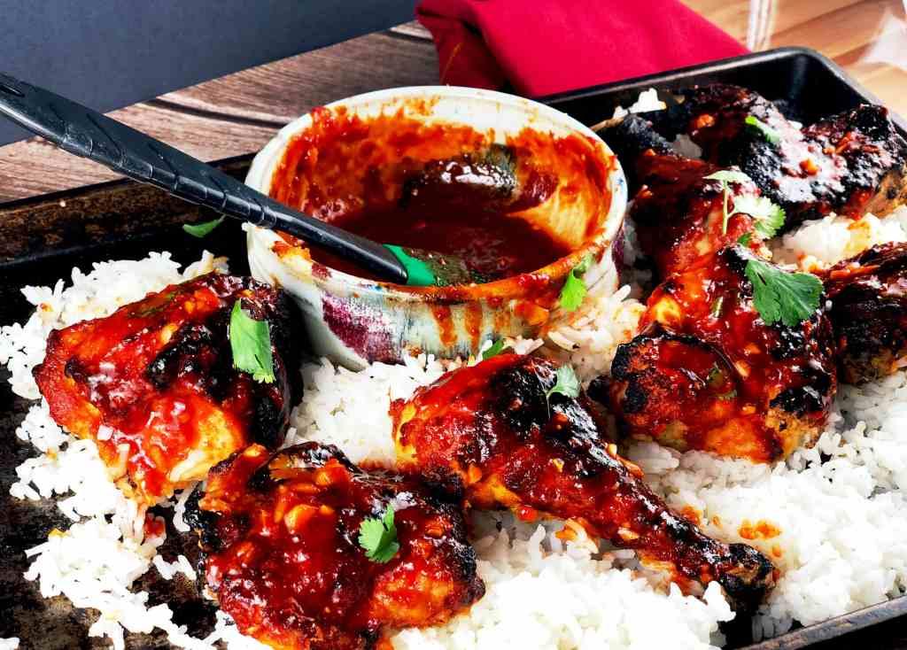 Korean Oven-Fried Chicken
